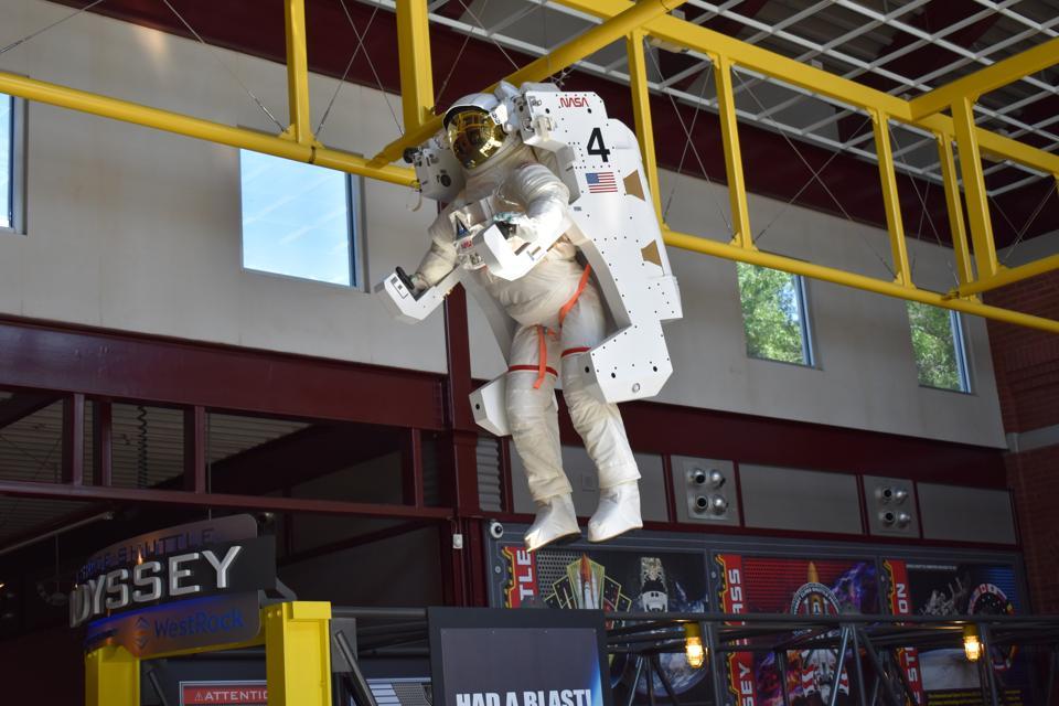 Coca-Cola. Coca-Cola Space Science Center. NASA. Columbus.