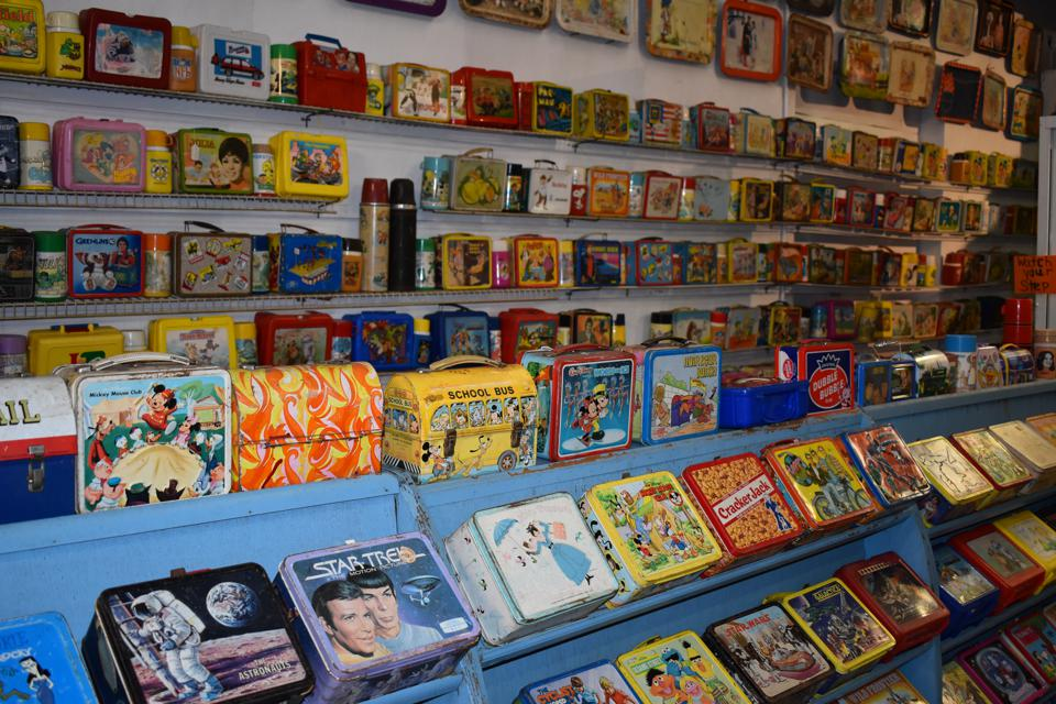 Columbus.  Lunchbox museum.  Lunch boxes.