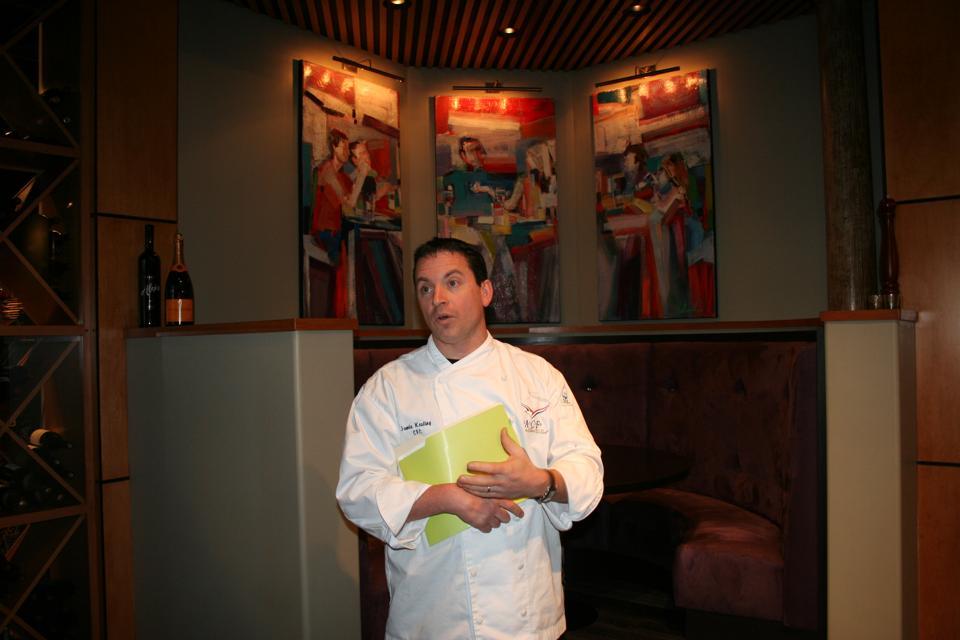 EPIC Restaurant. Chef Jamie Keating. AAA Four-Diamond. Columbus.