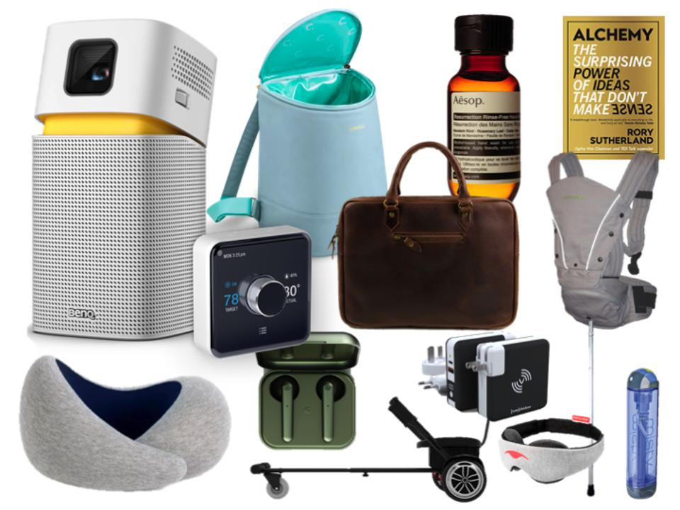 Summer Technology + Leisure Gift Guide featuring great tech from BenQ to Nest, Urbanista to Ostrich.