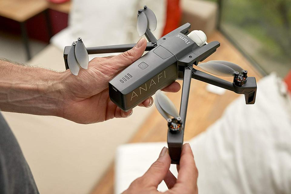 The Parrot Anafi drone.