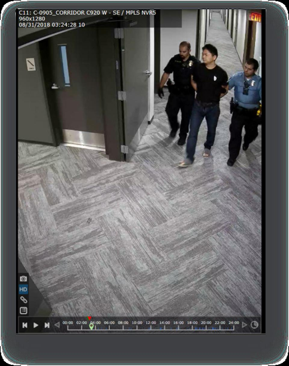 Richard Liu arrest