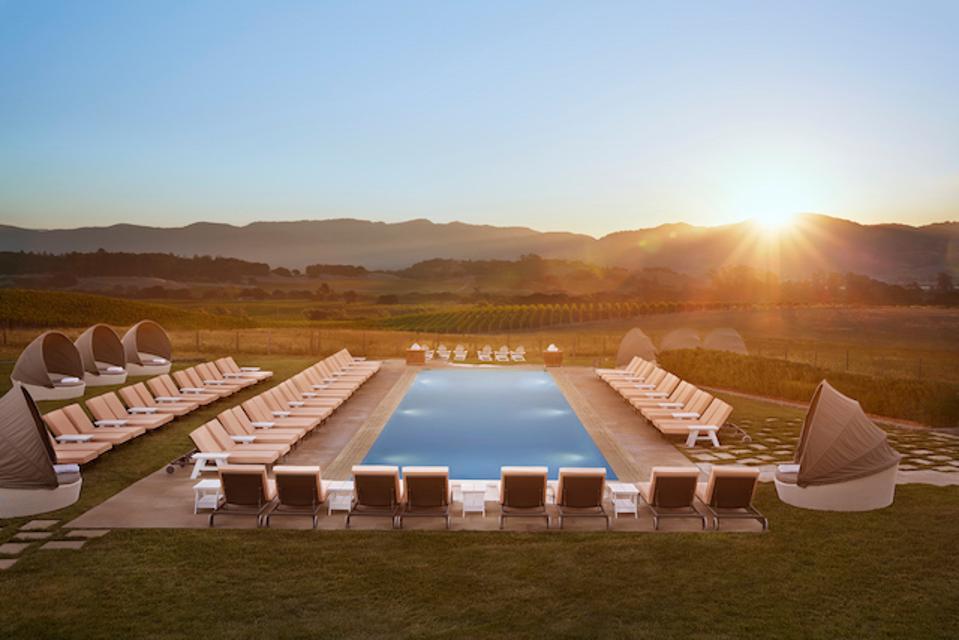 Carneros Resort and Spa Hilltop Pool