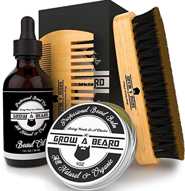 Grow A Beard Grooming Set