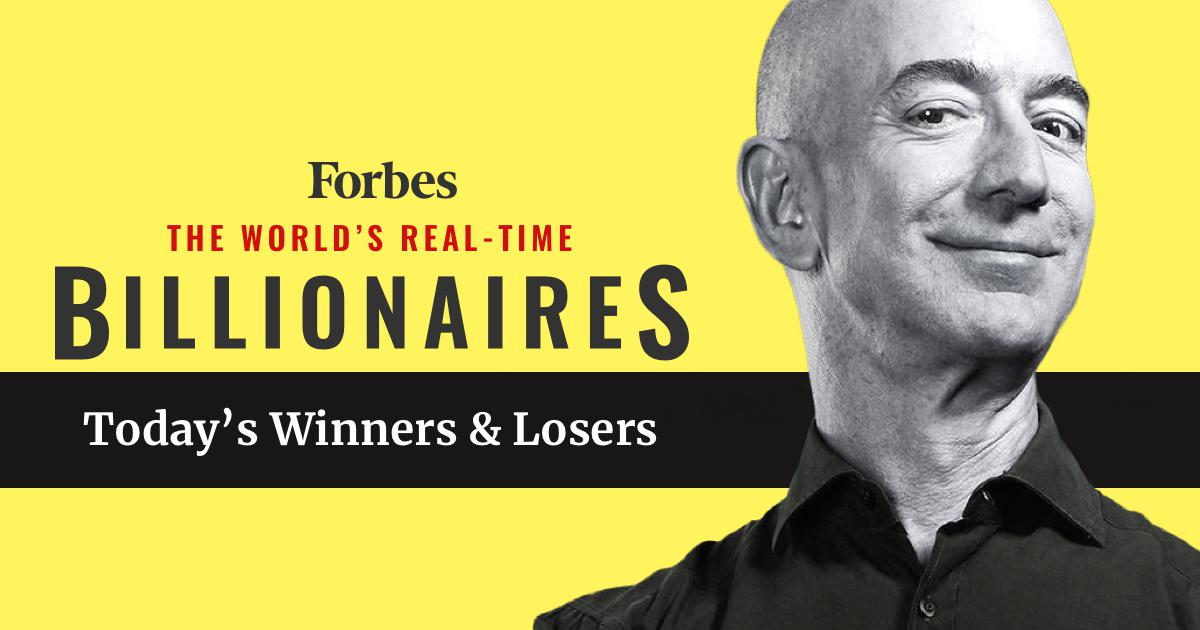 Real Time Billionaires Jef Bezos