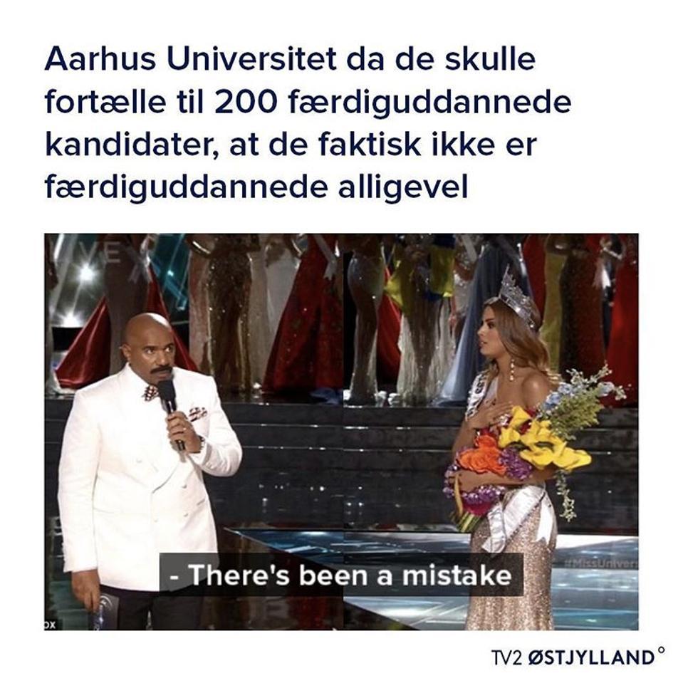 An example of meme journalism in Denmark