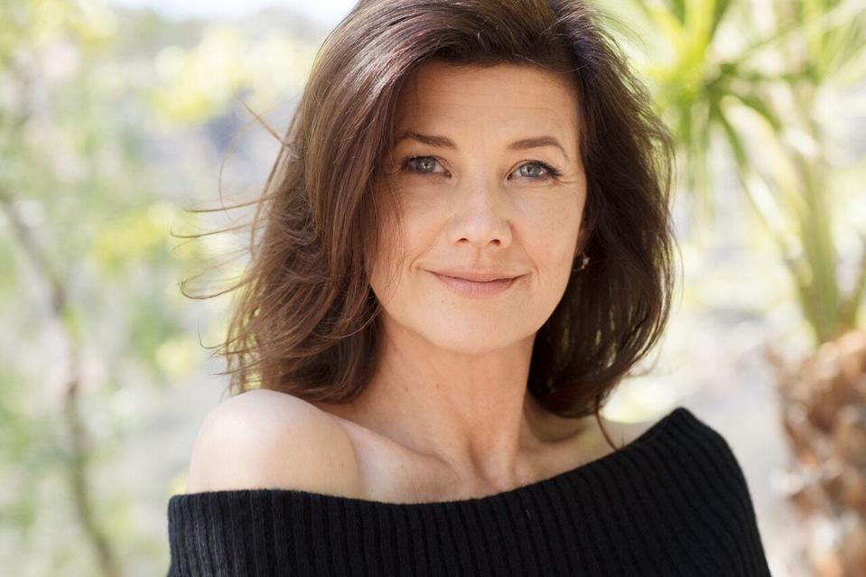 Photo shows smiling Daphne Zuniga, who stars in Lifetime's ″Gates of Paradise.″