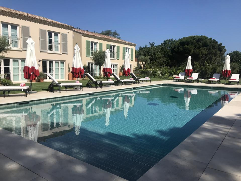 The Pool at Hotel Lou Pinet