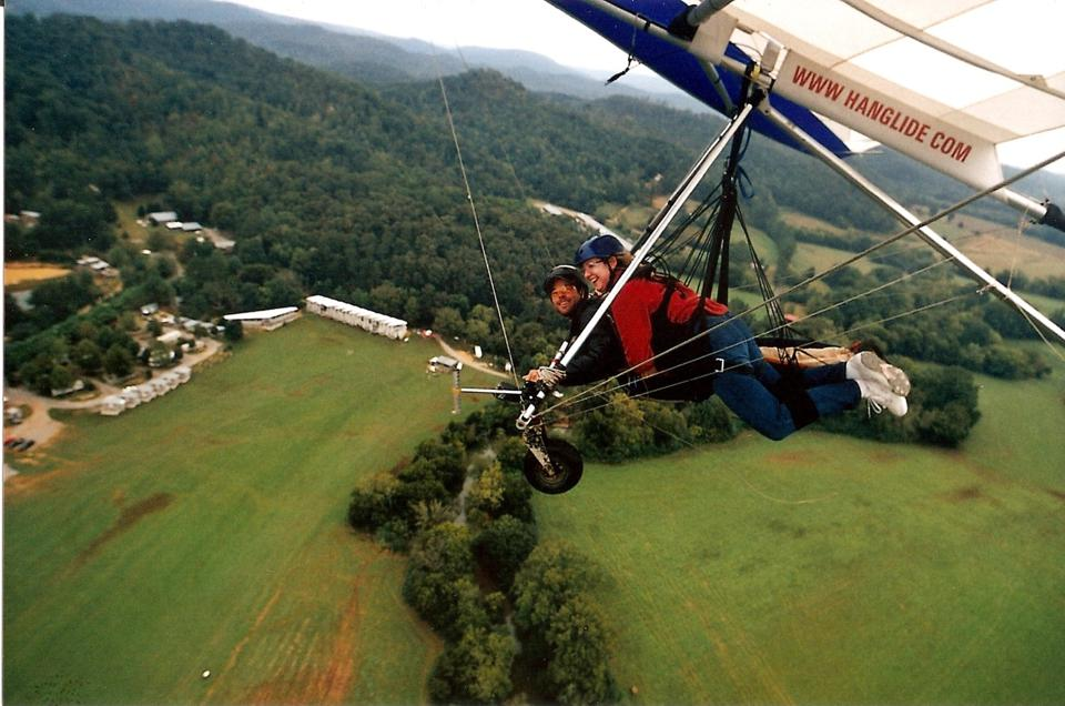 Flying Like An Angel: What It's Like To Hang Glide And