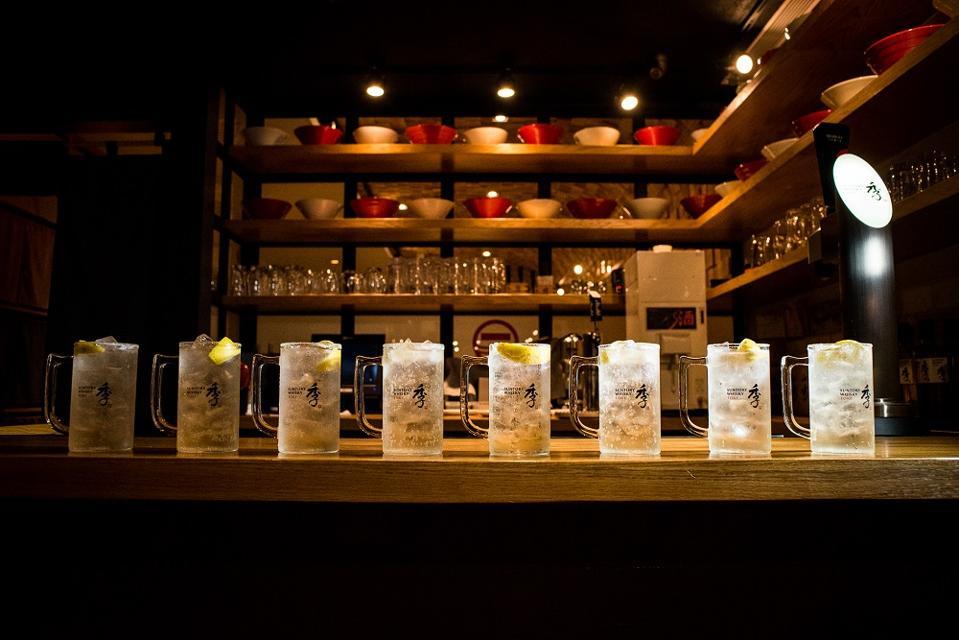Whisky highballs