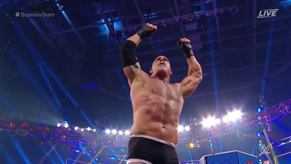 Goldberg at SummerSlam