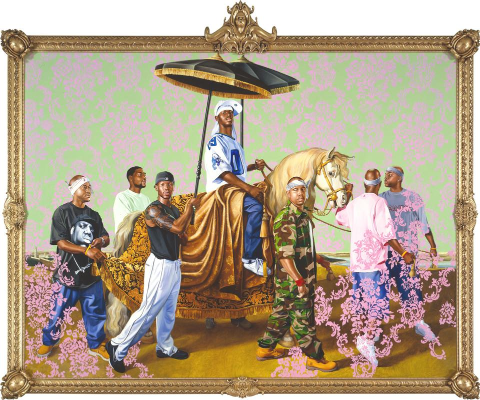 Kehinde Wiley's Portraits Hijack Poses From Old Master Paintings To Change Perceptions Of Black People In Modern Society