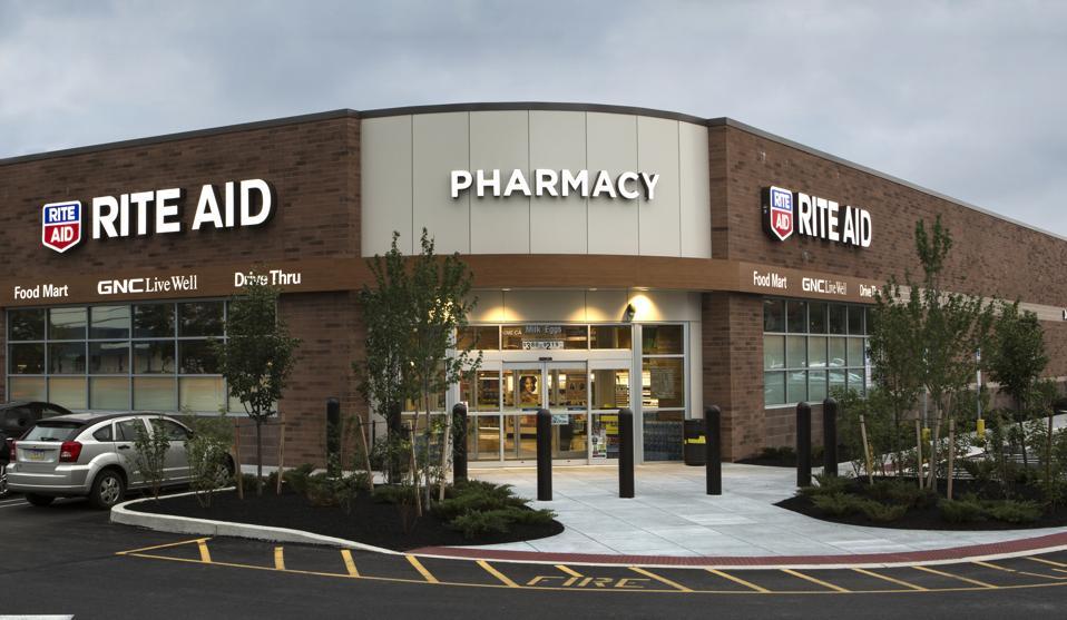 A Rite Aid store in Harrisburg, PA