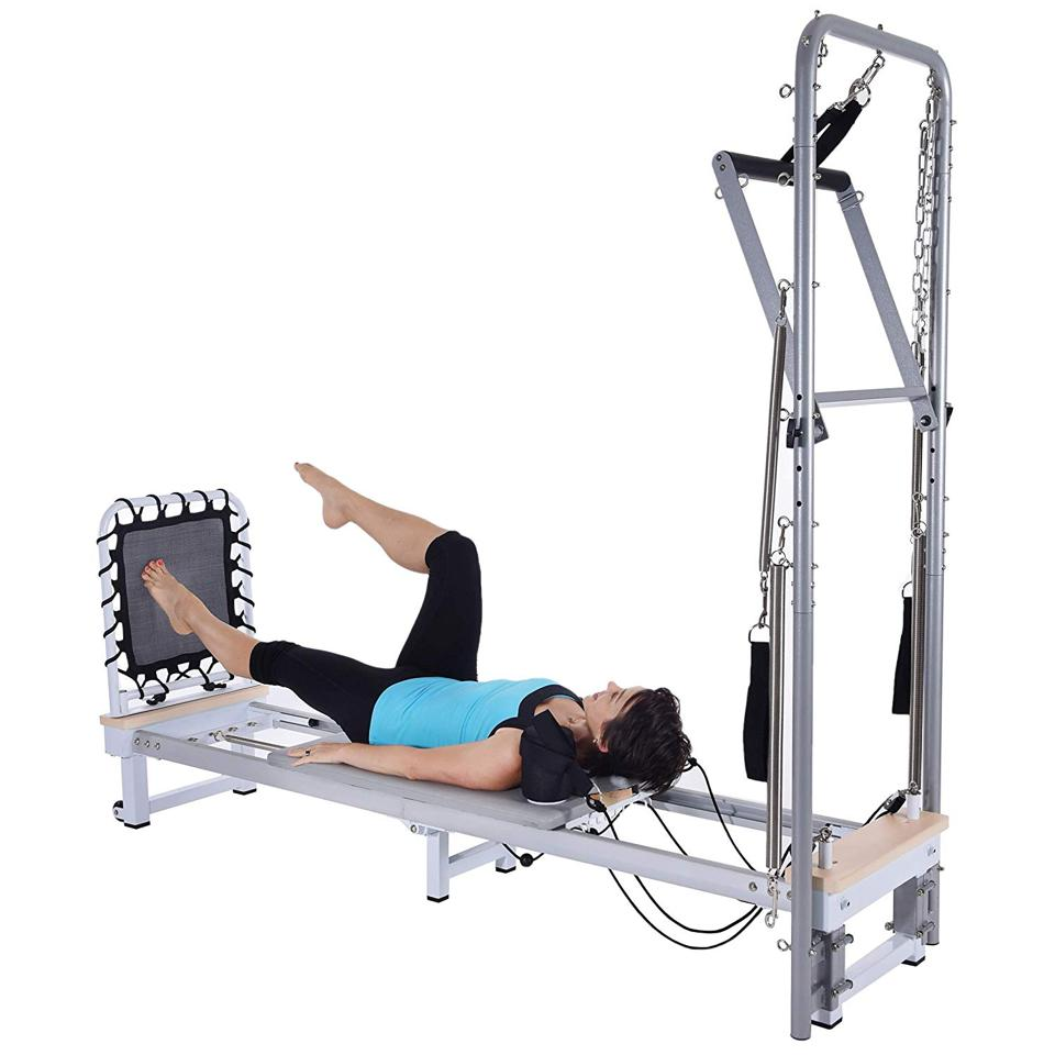 Precision Series Reformer with Optional Cadillac from AERO PILATES