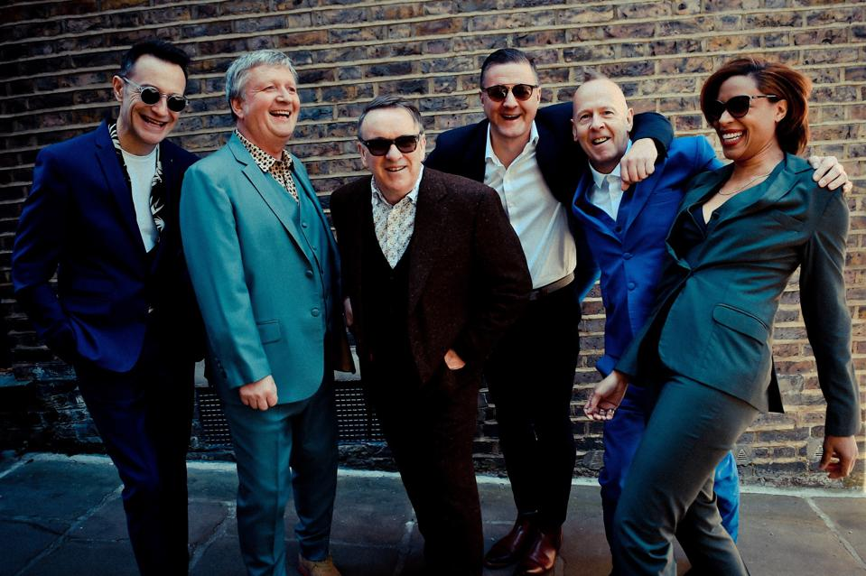 Members of Squeeze, 2019