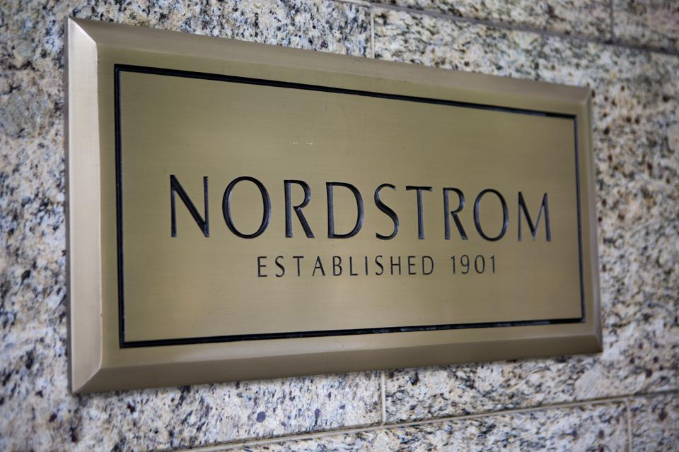 Downtown Seattle Retail Shopping District with Nordstom Department Store