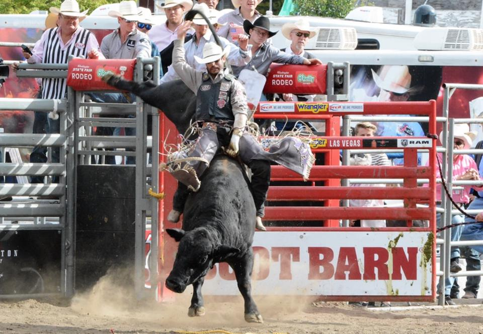The rodeo at the Washington State Fair