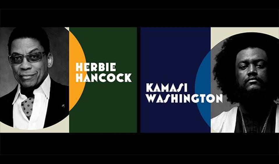 Herbie Hancock and Kamasi Washington