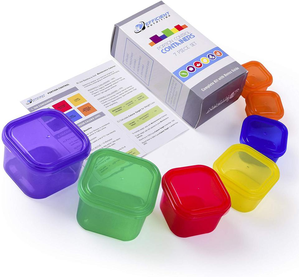 Efficient Nutrition Portion Control Container Kit