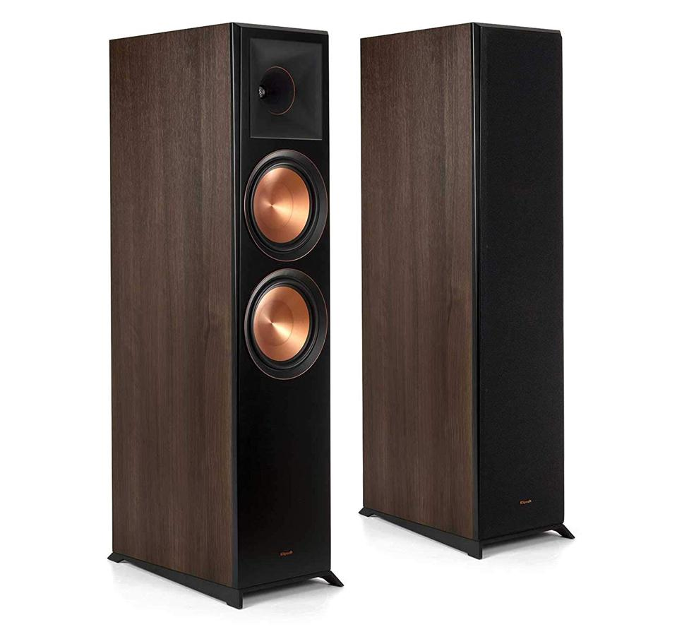 The Klipsch RP8000 feature a modern design by the renowned speaker maker, plus that Big K sound.