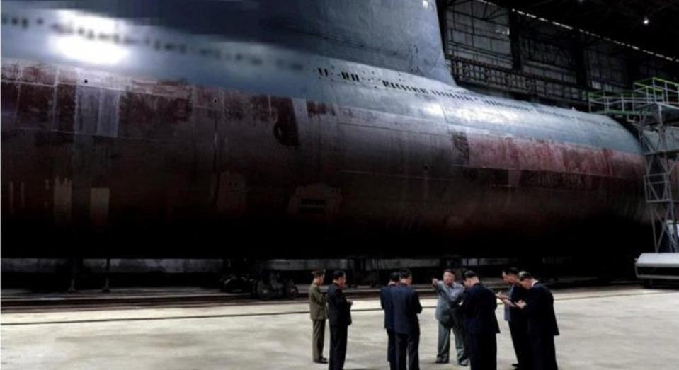 North Korean submarine