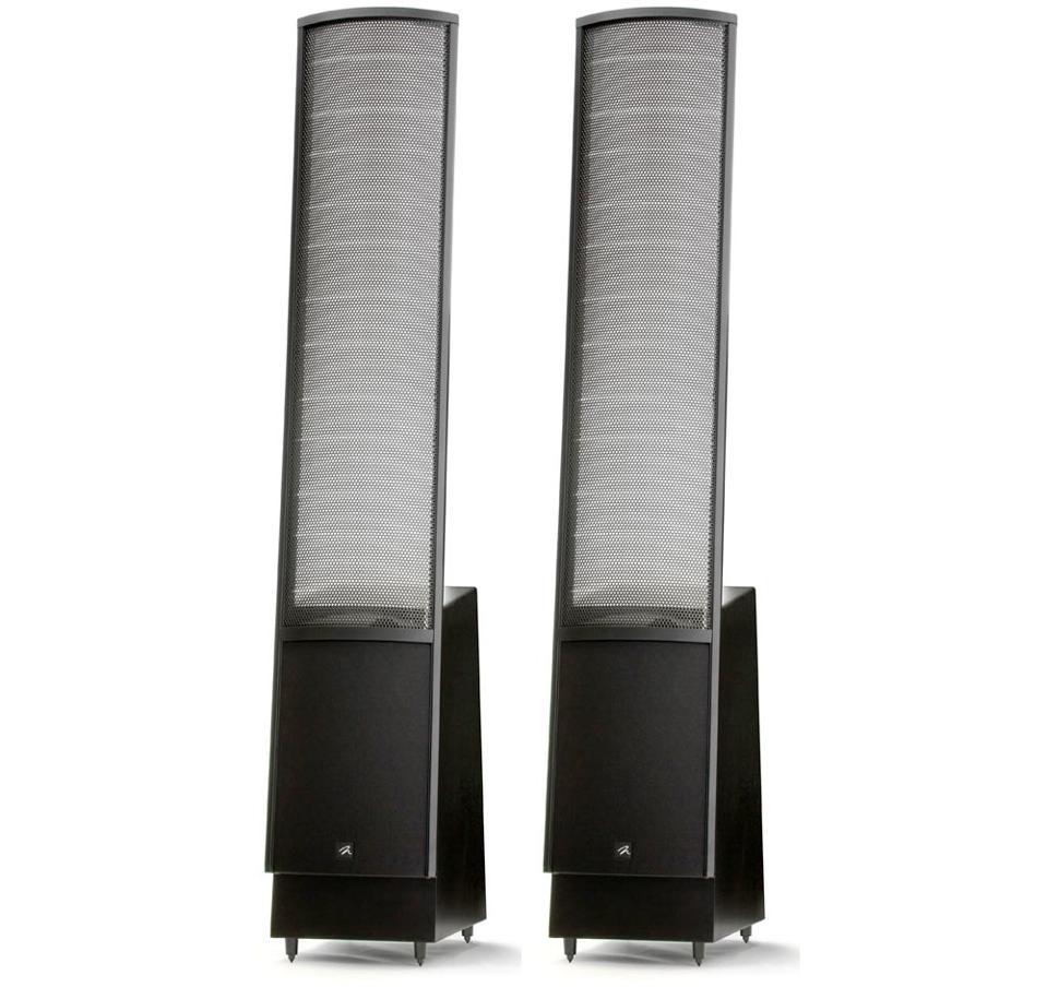 MartonLogan's electrostatic ElectroMotion speakers