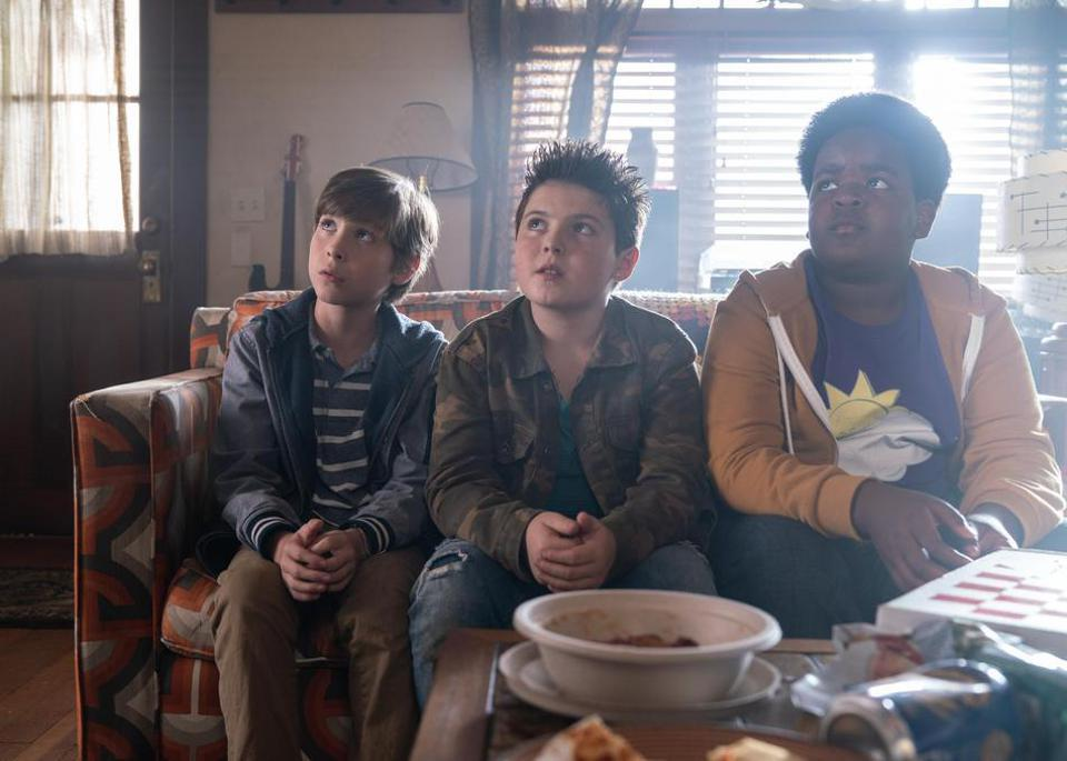 Brady Noon, Jacob Tremblay, and Keith L. Williams in Good Boys (2019)
