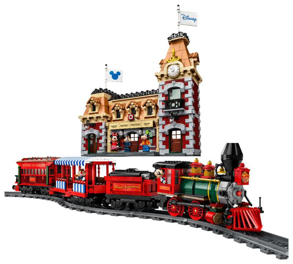 LEGO Builds The Disneyland Railroad In Its Newest Set