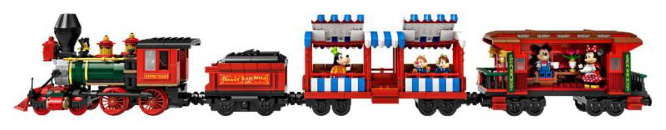lego disneyland railroad mickey minnie