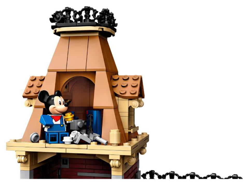 Mickey Mouse clock tower lego
