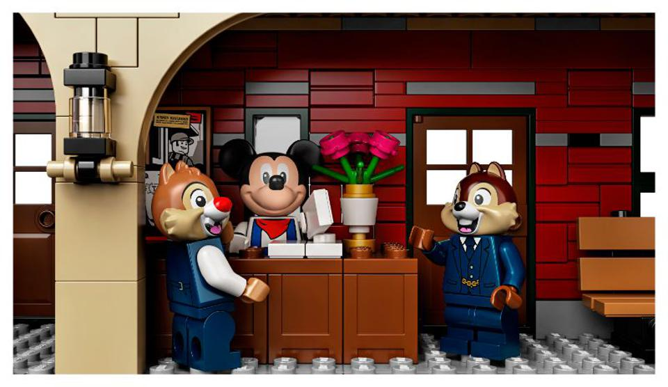 Lego chip and dale and mickey rescue rangers