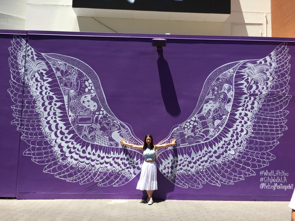 Wings at Universal in LA