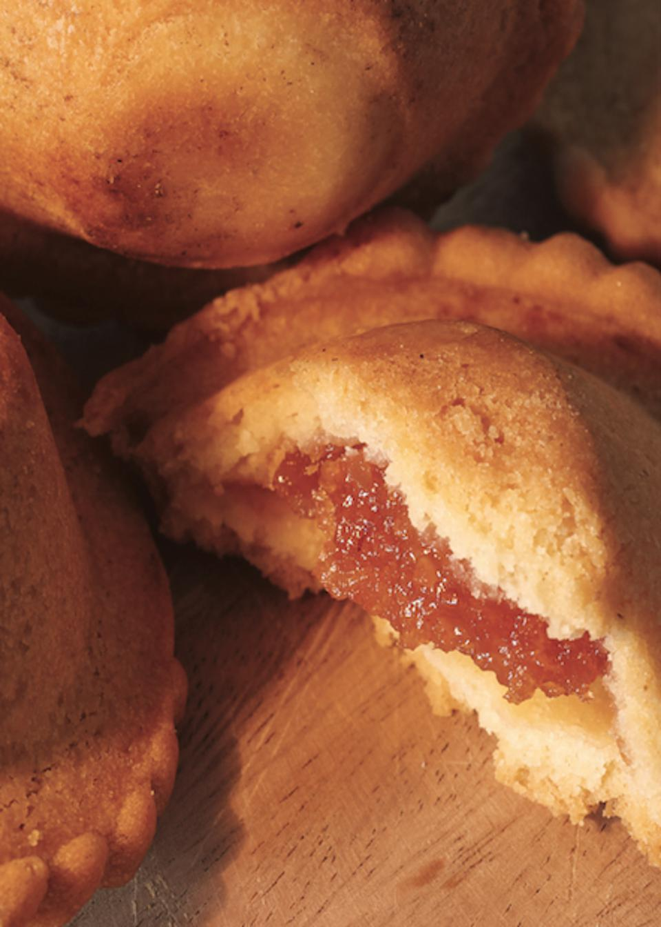 Cubeletti, a classic Rapallo treat, made by the pasticceria.