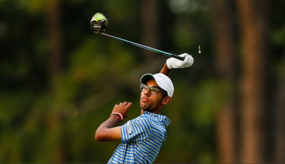Akshay Bhatia, No. 4 in the World Amateur Golf Rankings.
