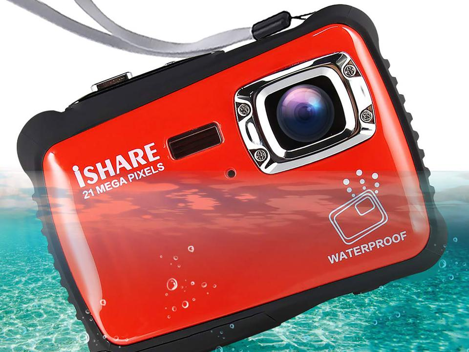 iSHARE waterproof camera - The Best Waterproof Cameras