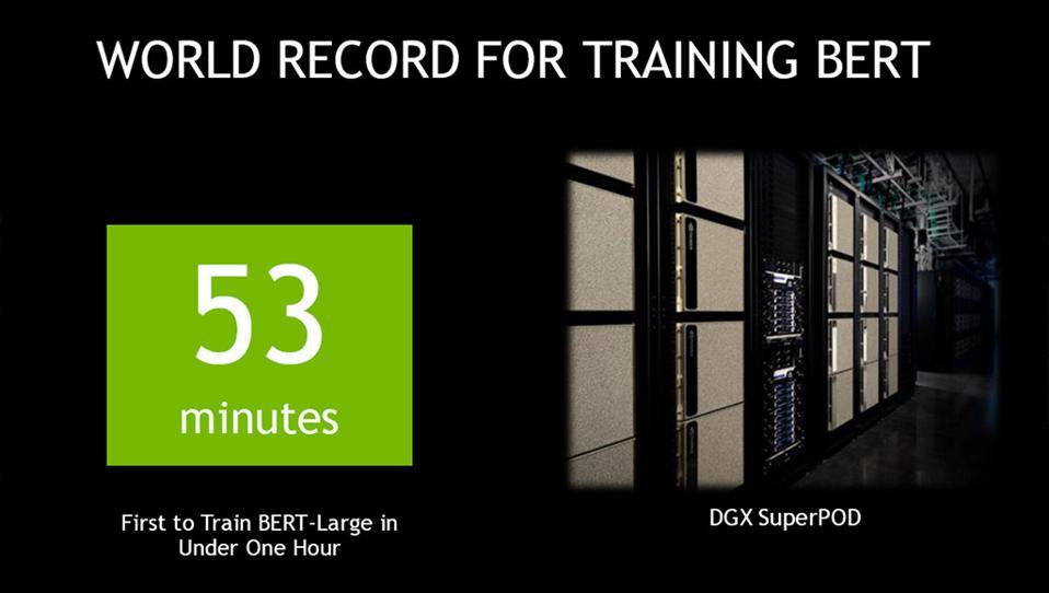 NVIDIA BERT-Large Training
