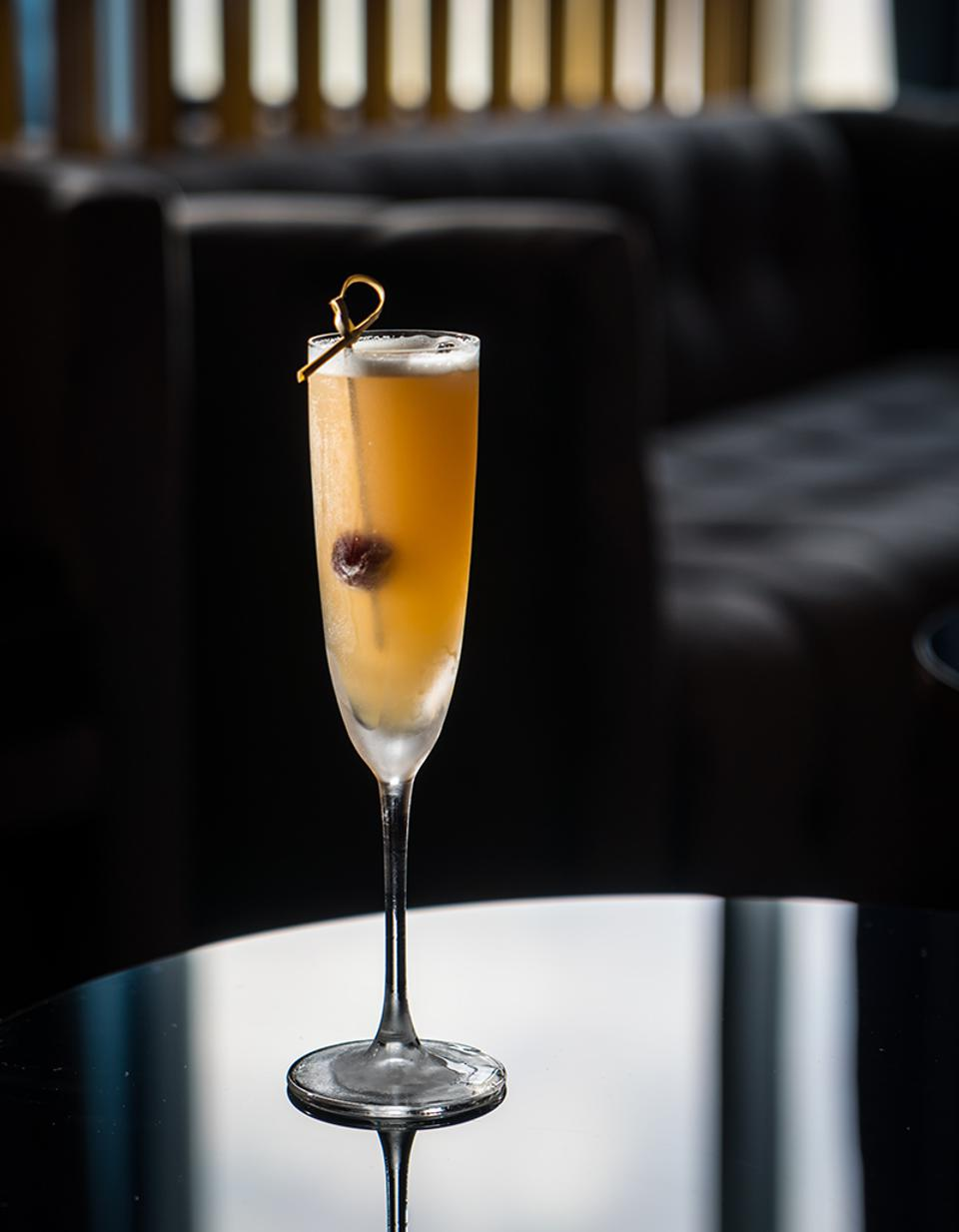 The Morning Glory Fizz at Lyaness.