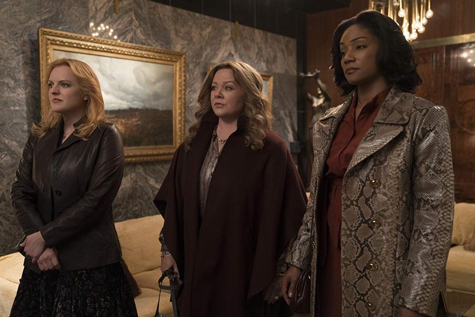 Melissa McCarthy, Tiffany Haddish and Elizabeth Moss in 'The Kitchen'