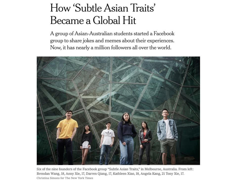 Subtle Asian Traits