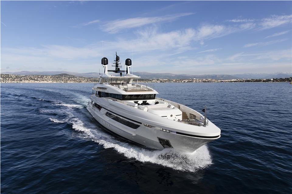 The new Baglietto 48M T-Line will be on display in Cannes next month.