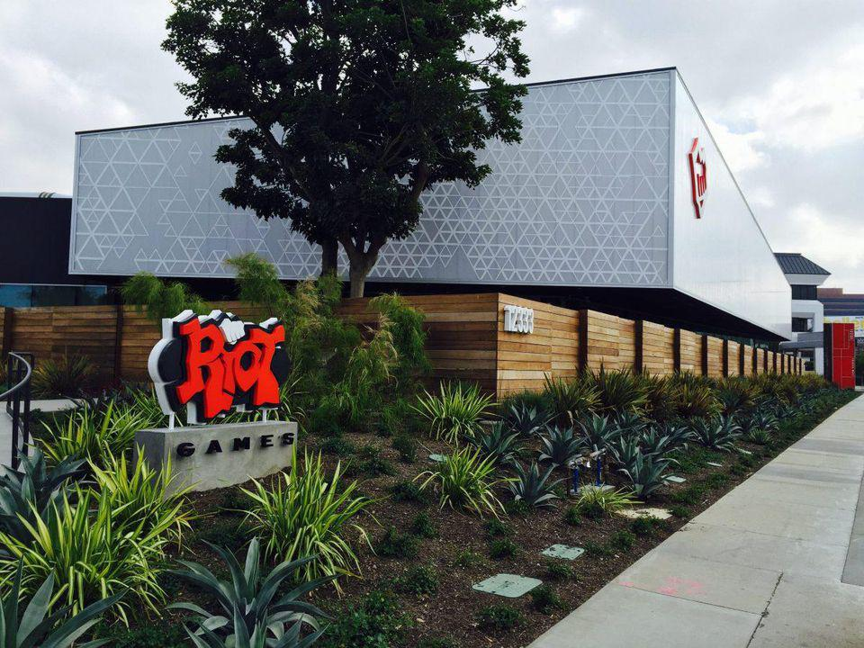Riot Games headquarters in Los Angeles, CA.