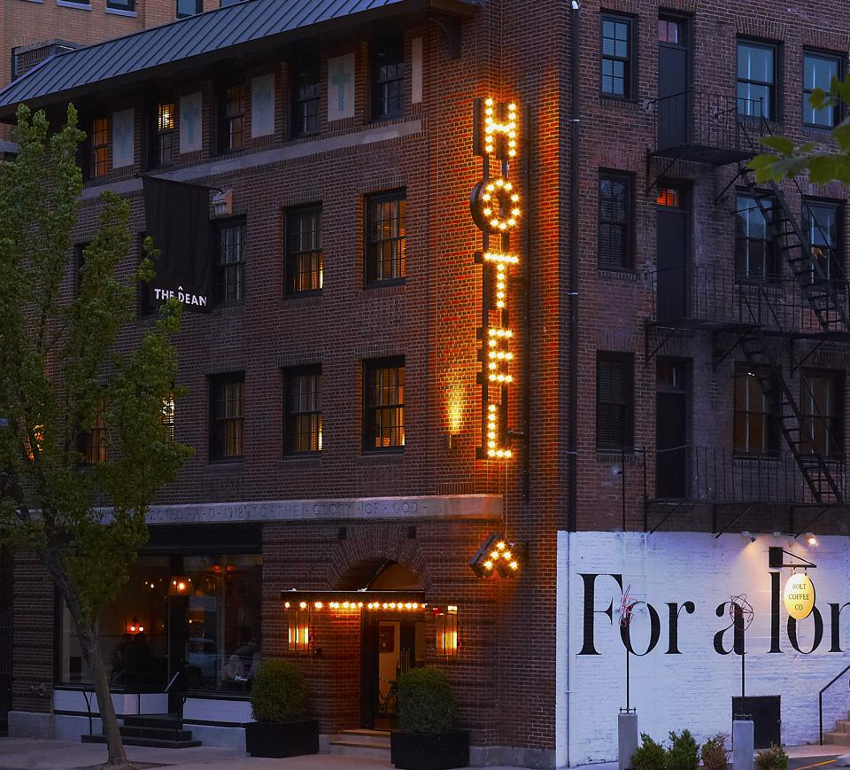 A hotel in Providence RI
