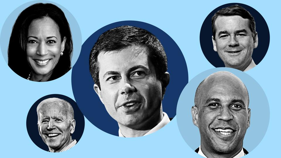 Presidential candidates with the most billionaire donors