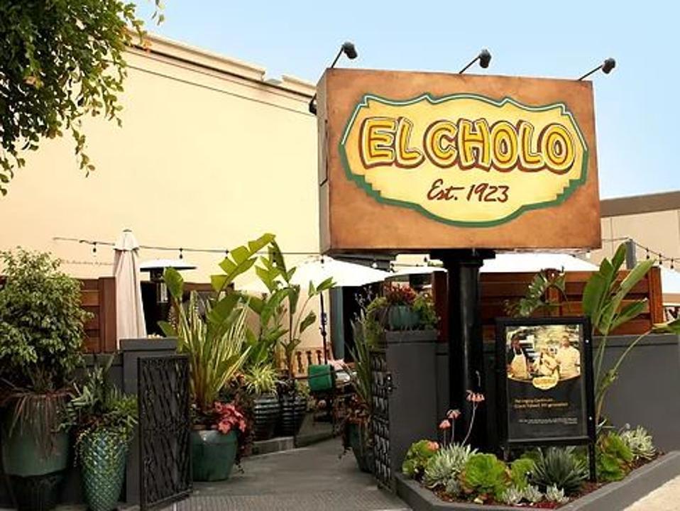El Cholo has half a dozen locations across Los Angeles with its original location on Western Ave.