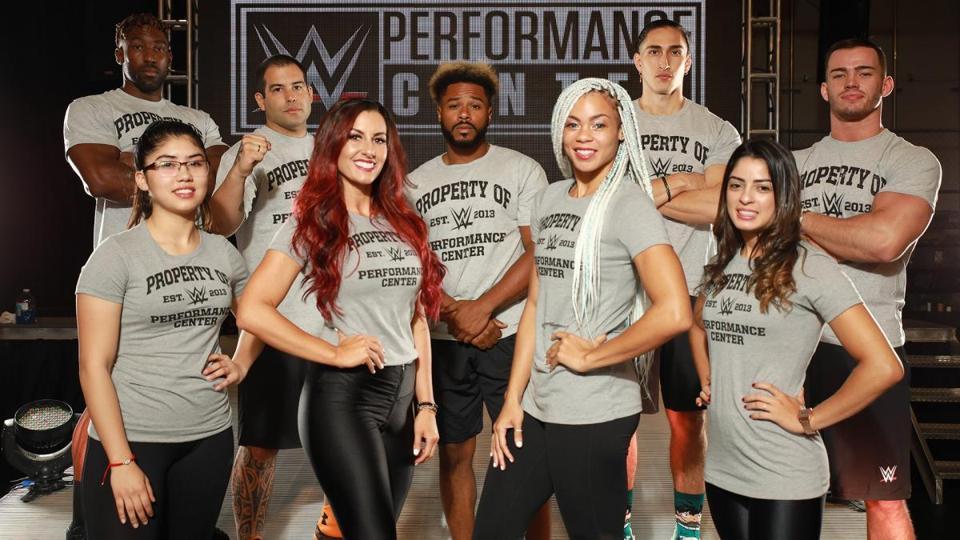 The Summer 2019 WWE Performance Center class.