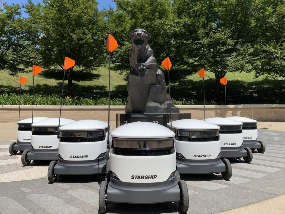 Starship Technologies Raises $40 Million To Expand Its Food-Delivery Robots On College Campuses