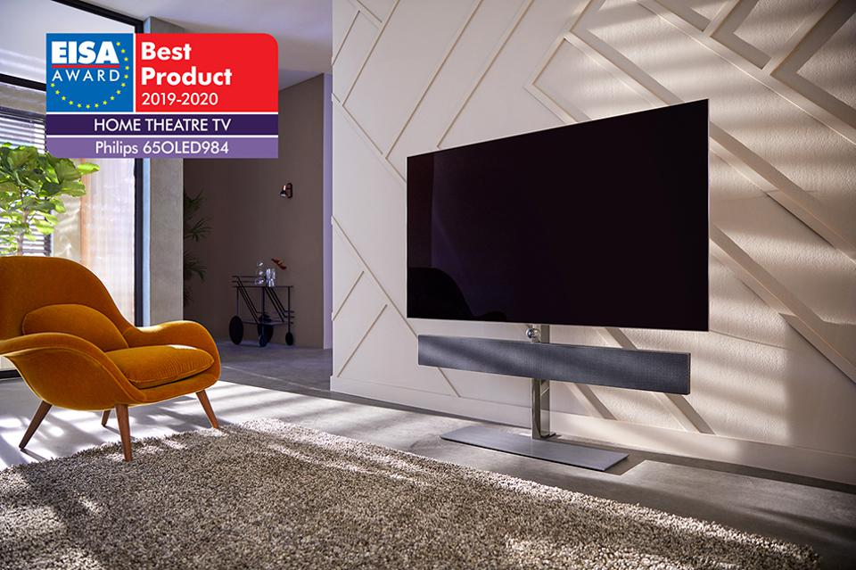 Best Tvs 2020.Philips Oled Tvs Scoop Eisa Awards For Third Consecutive Year