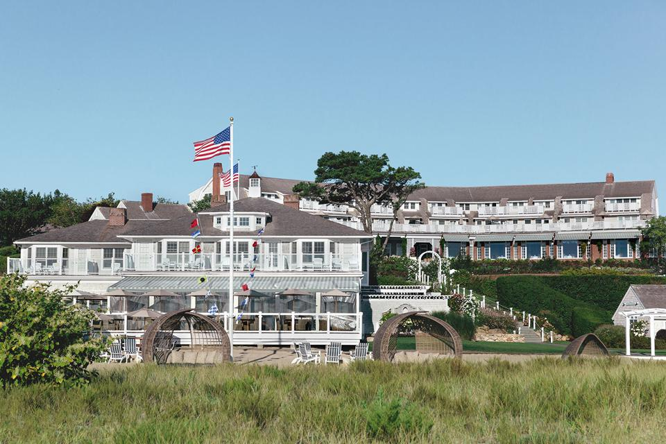 Chatham Bars Inn is a grand beachfront resort.
