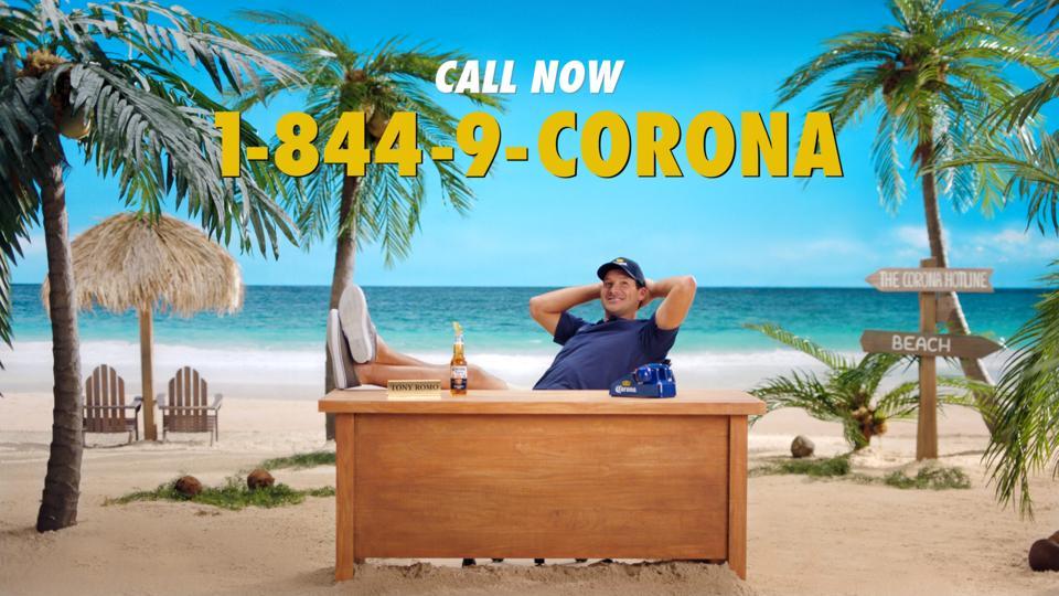 Corona Tony Romo