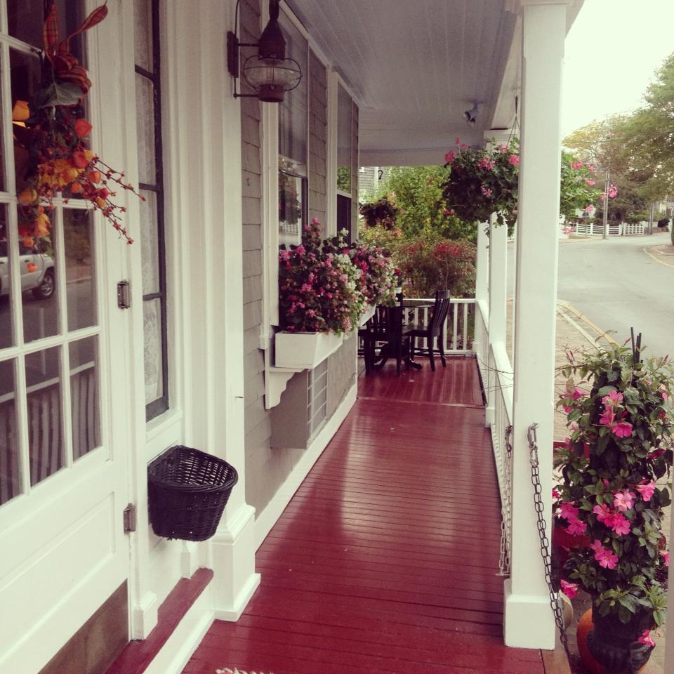 Century House features a charming wrap-around verandah.